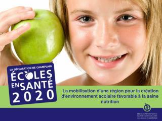 Une vision pour Champlain … (2007-2012)