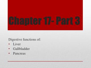 Chapter 17- Part 3
