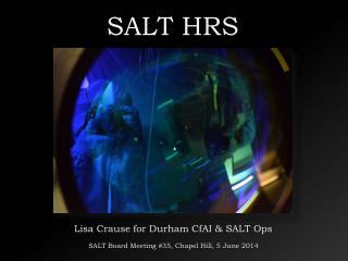SALT HRS