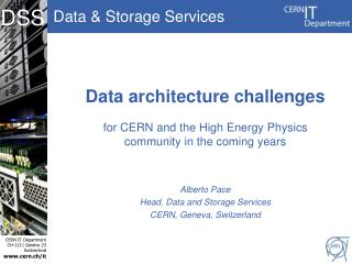 Data architecture challenges