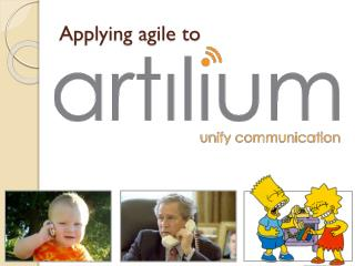 Applying agile to