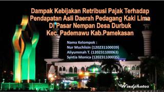 Nama Kelompok  : Nur Muchlisin (120231100039) Aliyummah  T. (120231100063)