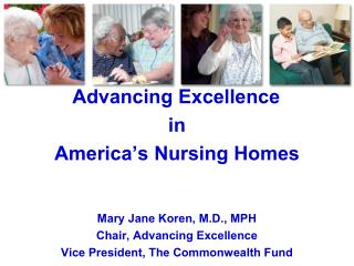 Advancing Excellence: The NH Quality Campaign  Overview of the presentation