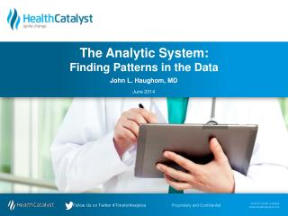 The  Analytic System: Finding Patterns in the Data
