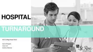 Hospital STATUS  Turnaround