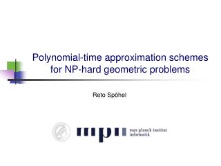 Polynomial-time approximation schemes for NP-hard geometric problems