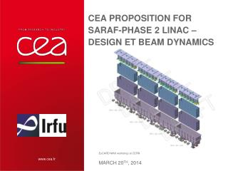 CEA proposition for SARAF-phase 2 linac – Design et beam dynamics