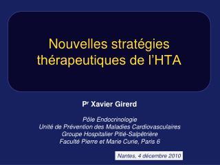 Un traitement m dicamenteux ne devrait pas  tre d but  avant la confirmation d une HTA permanente par la r alisation d u