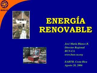 ENERG A RENOVABLE