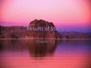 Results of Stress