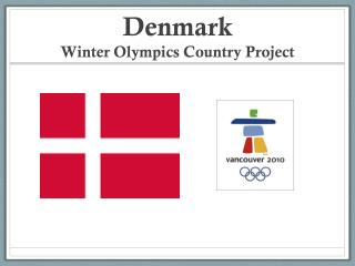 Denmark Winter Olympics Country Project