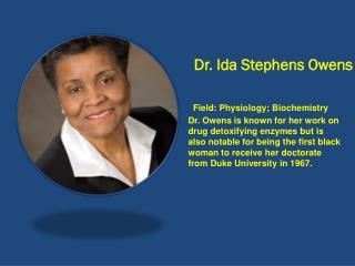 Dr. Ida Stephens Owens