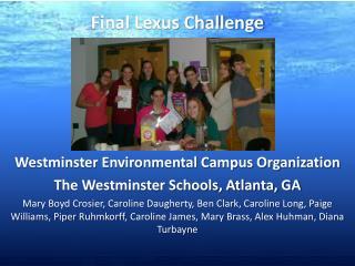 Final Lexus Challenge