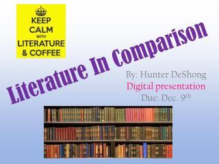 Literature In Comparison