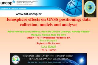 Ionosphere effects on GNSS positioning : data collection, models and analyses