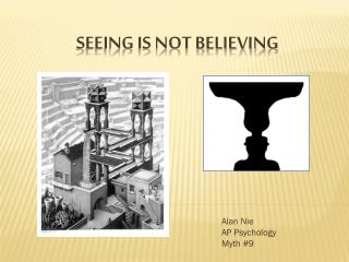 Seeing is Not Believing