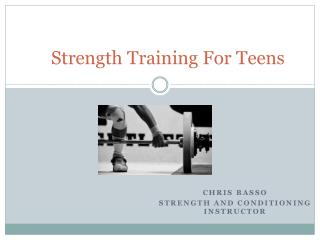 Strength Training For Teens