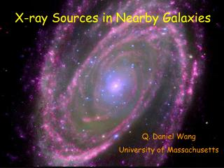 X-ray Sources in Nearby Galaxies