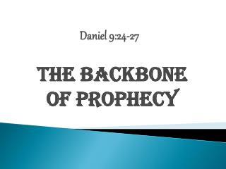 Daniel 9:24-27