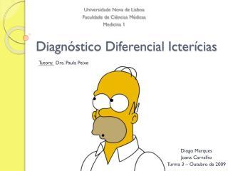 Diagn stico Diferencial Icter cias