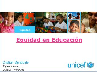 Equidad en Educación