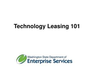 Technology Leasing  101