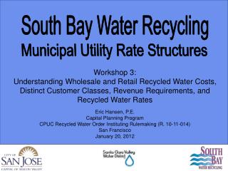 Municipal Utility  Rate Structures