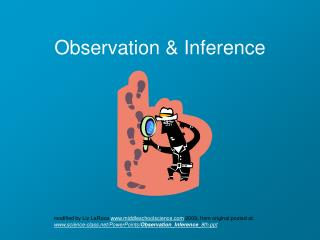 Observation & Inference