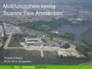 Multifunctionele kering Science Park Amsterdam