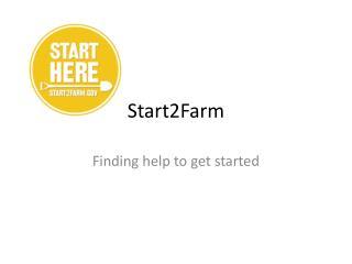 Start2Farm