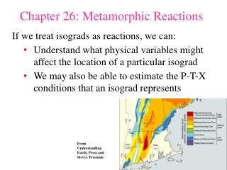 Chapter 26: Metamorphic Reactions