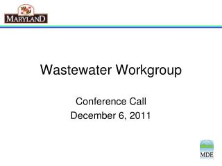 Wastewater Workgroup