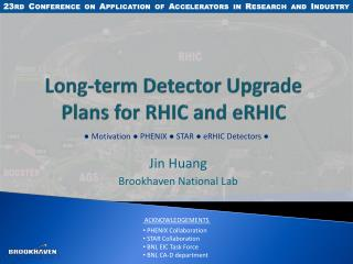 Long-term Detector Upgrade Plans for RHIC and eRHIC