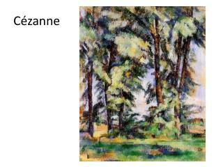 C�zanne