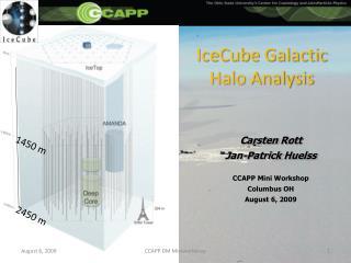 IceCube Galactic Halo Analysis