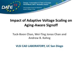 Impact of Adaptive Voltage Scaling on Aging-Aware Signoff