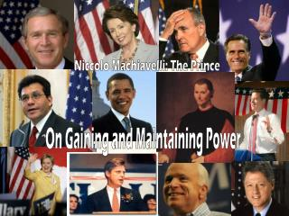 On Gaining and Maintaining Power