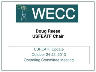 Doug Reese USFEATF Chair