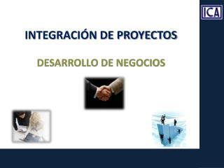 INTEGRACIÓN DE PROYECTOS DESARROLLO DE NEGOCIOS