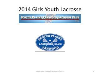 2014 Girls Youth Lacrosse