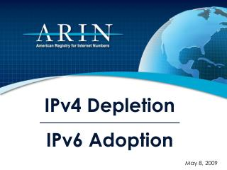 IPv4 Depletion IPv6 Adoption