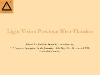 Light Vision Province West-Flanders