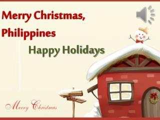 Merry Christmas, Philippines
