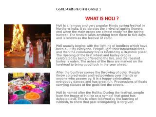 GGKLI-Culture Class Group 1
