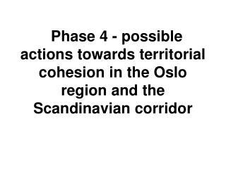 The Oslo region