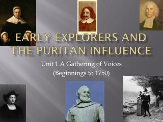 Early Explorers and the Puritan Influence