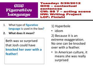GIIG Figurative Language