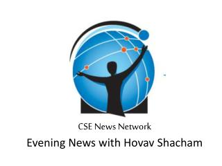 CSE News Network Evening News with  Hovav Shacham