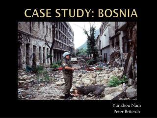 Case Study: Bosnia