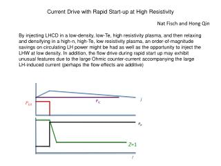 Current Drive with Rapid Start-up at High Resistivity